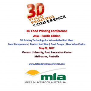 3D Food Printing Conference Asia